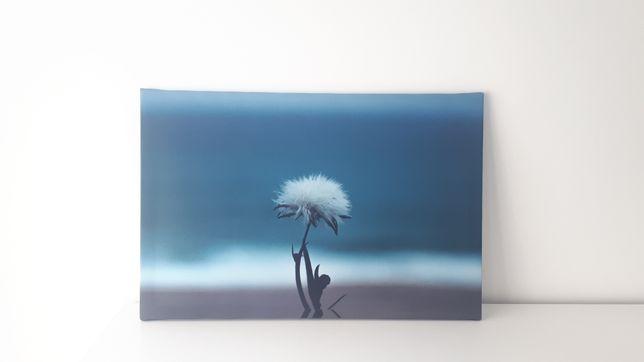 Tela / quadro em tons de azul
