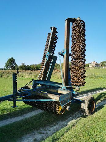 Wał posiewny wały 6,3m uprawowe hydraulicznie crosskill posiewne