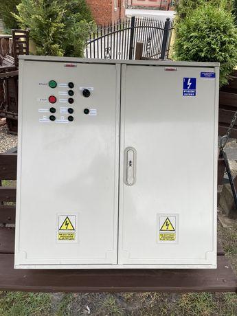 Rozdzielnia elektryczna szafa emiter 2 dzwiowa kompletna wyposazona