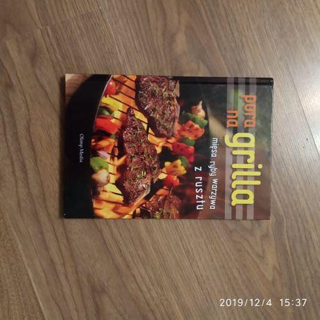 Książka przepisy na grilla.