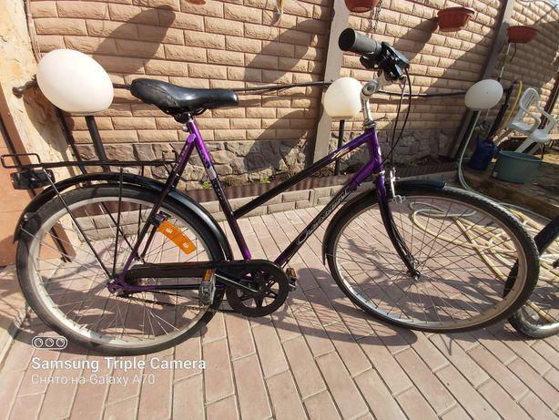 Женский велосипед на 7ми скорстной планетарке из Германии