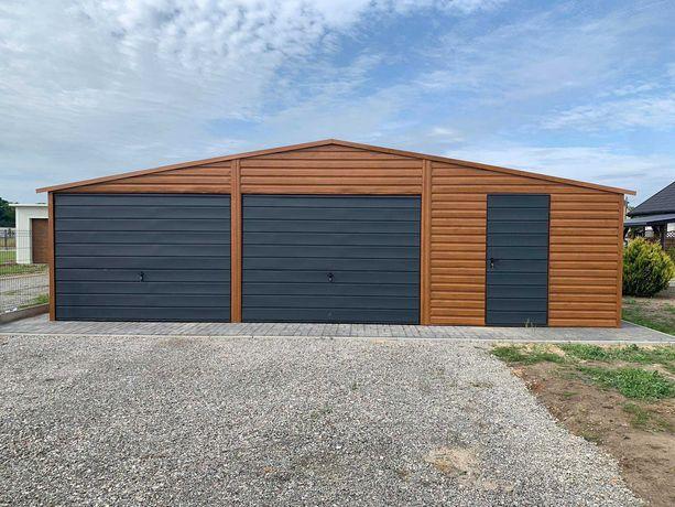 Garaż Drewnopodobny Premium 8x6 , 6x8