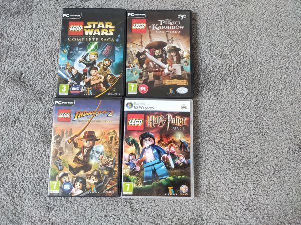 Pc Lego gry - Harry Potter, Indiana Jones, Starwars, Piraci z Karaibów