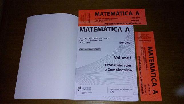 Livro GAVE Matemática A - Probabilidades e Combinatória