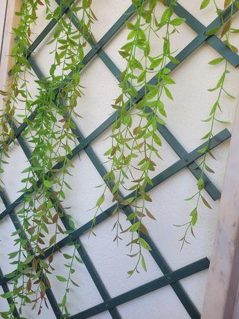 Decoração parede exterior / Planta artificial