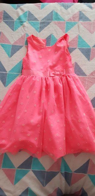 Różowa sykienka rozm.116