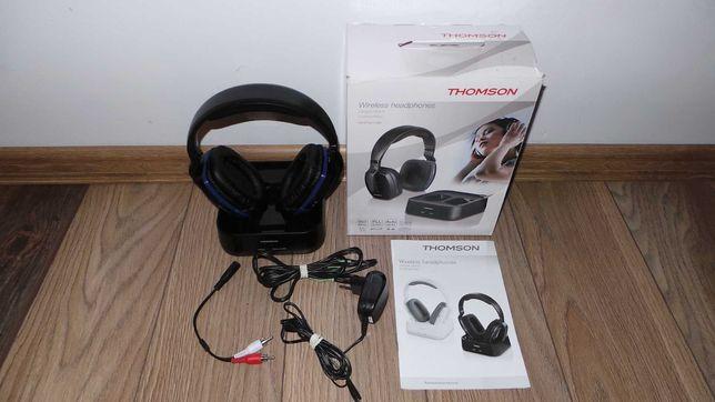 IDEALNE Słuchawki nauszne Thomson WHP 3311 BLACK