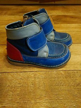 Ботиночки детские на флисе ботинки ортопеды Размер 23 стелька15 см