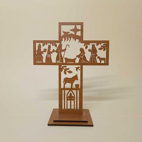 Presépio na cruz