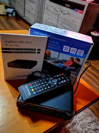 Dekoder DVBT/DVBT2 Metronic Zapbox HD-SH.1