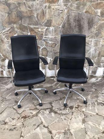 Офісне шкіряне крісло 1 шт. Натуральна шкіра, кожа, кожаный стул