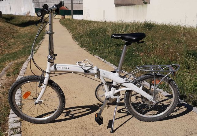 Bicicleta dobrável Dahon MU P8, roda 20