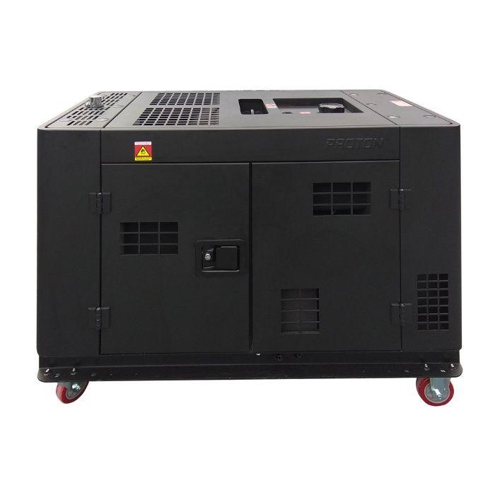 Agregat prądotwórczy Diesel 15kVA (12KW) Wyciszony chłodzony cieczą Rososzyca - image 1