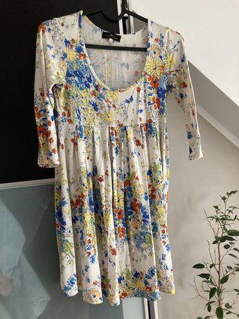 River island tunika sukienka ciazowa w kwiaty s m 36 38