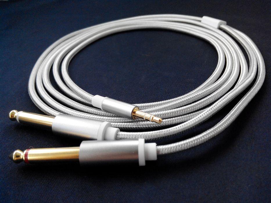 Аудио шнур 1 Мини Джек на 2 Джека Корытное - изображение 1