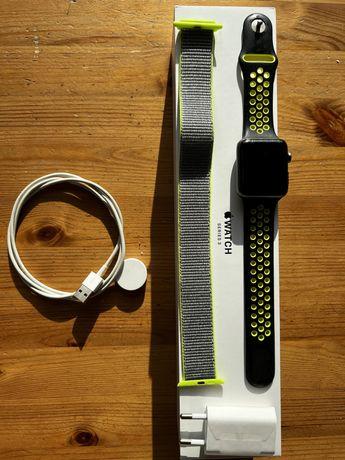 Okazja Apple Watch 3 42mm iWatch stan bdb gratis!