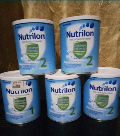 Детская смесь Nutrilon кисломолочный