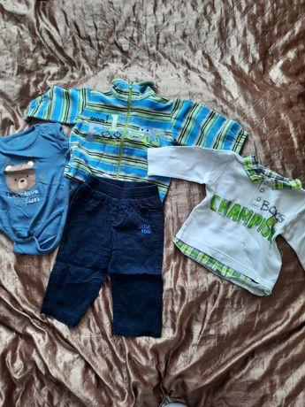 Ubrania dla chłopca rozm. 75