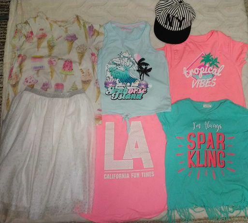 Пакет одежды на девочку 134-146