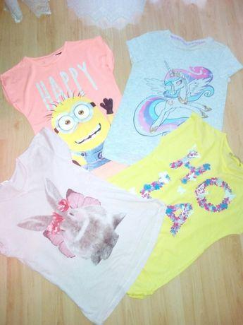 Bluzki dla dziewczynki 6-7 lat