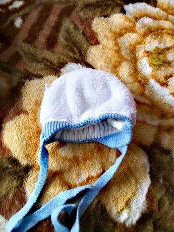 Децкая зимняя шапочка для мальчика в хорошем состоянии очень тёплая, п