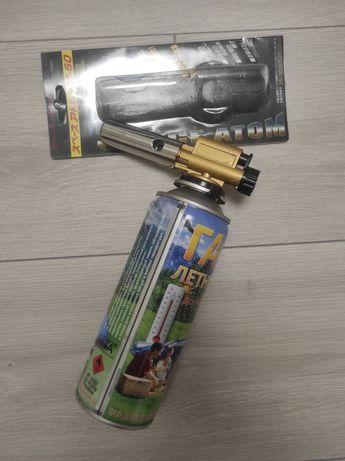 Газовая Горелка м-60 с пьезоподжигом