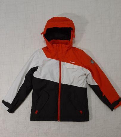 Теплая куртка парка пуховик Wed`ze р. 134 -140 оригинал