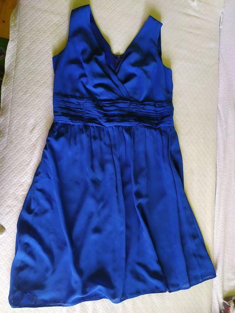 Elegancka wyjściowa sukienka r.46