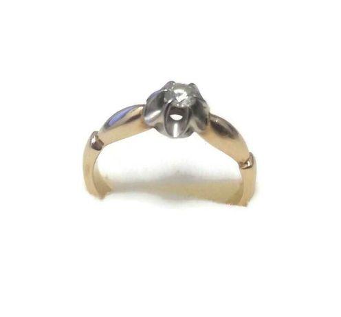 złoty pierścionek 585 2,84g roz 10