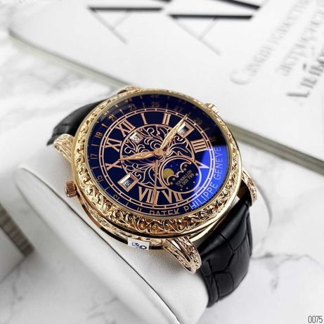 Мужские премиум ААА класс Sky Moon Patek Philippe. Новые часы.