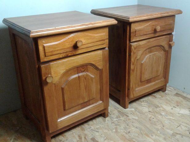 2 x szafki nocne, pełne drewno. Jak nowe !
