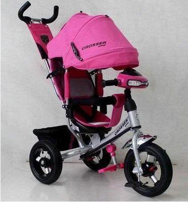 Детский трехколесный велосипед Azimut Crosser One T1