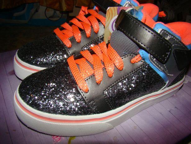 Модные, яркие и стильные высокие кроссовки, хайтопы скейтеры Op. сша 3