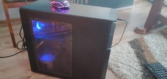 Kompletny komputer stacjonarny z monitorem