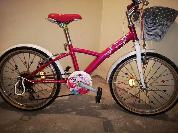 Rower btwin 20 dla dziewczynki