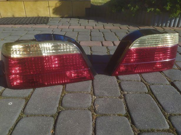 Lampy tył tylne BMW E38 lift biay kierunek