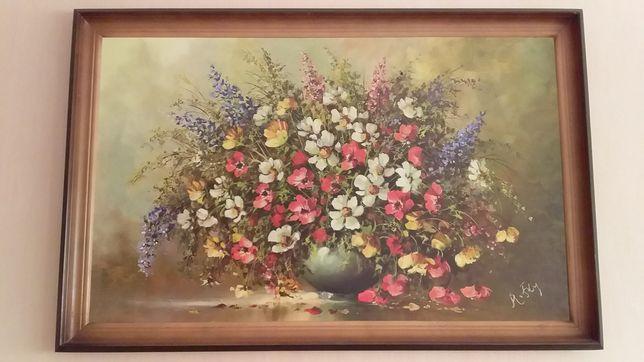 Картина цветы новая
