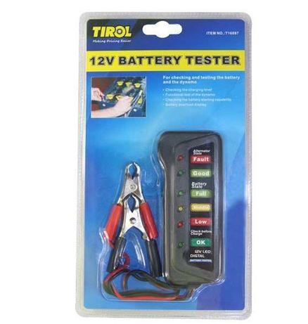 Aparelho de diagnóstico de baterias 12v