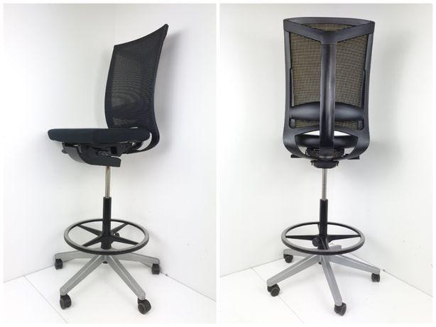 Fotel laboratoryjny/hoker do sklepów warsztatów Haworth Comforto DX886
