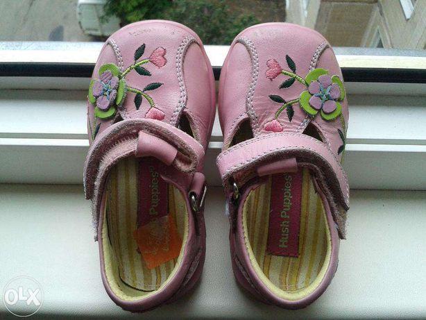 Шикарные туфли на девочку hush puppies 20 размер, 12,5 см.