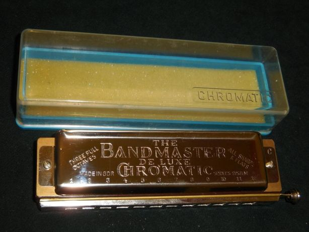 продам губну німецьку гармошку Bandmaster de luxe Chromatic