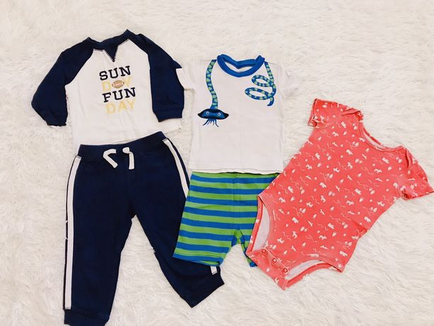 Комплект Костюмы , пижама, боди Geembory, Carter's (1-2 года)