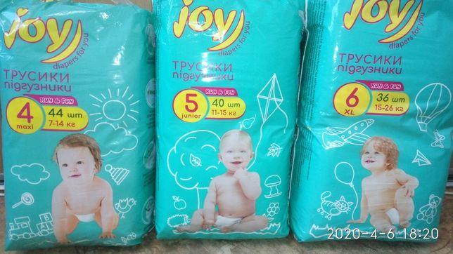 Трусики-памперсы Joy.