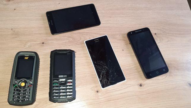Sprzedam telefony nokia cat alcatel