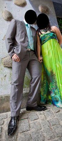 Garnitur Ślubny+koszula+krawat+buty44