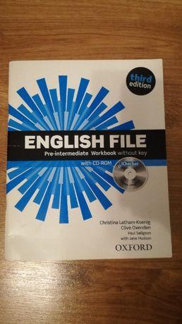 English File Pre-Intermediate Workbook without key + CD third ed -NOWE