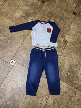 Реглан и джинсы на мальчика