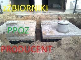 Zbiornik betonowy przeciwpożarowy PPOŻ SZAMBA dla firm marketów 100 m3