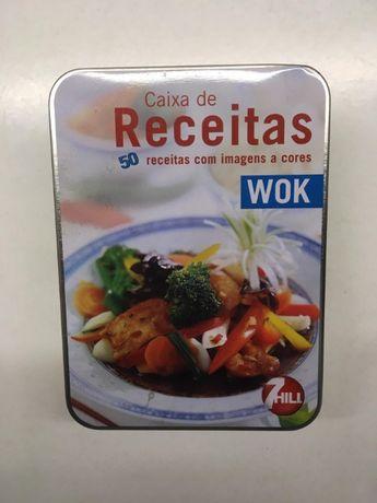 Caixa de Receitas - WOK
