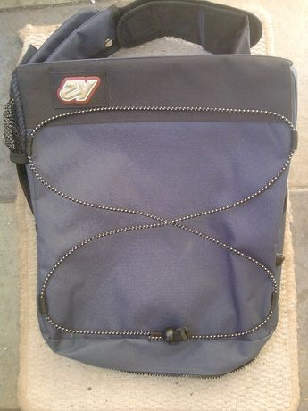 plecak na jedno-ramię firma K2-format A4- 10 cm-gruba -Nowa